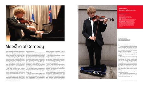 Nordic Reach magazine feat. Maestro