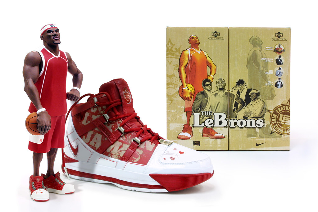All-Star Edition of Lebron Athlete Vinyl Figure drops on 2.15.06. We ve  featured Upperdeck s ... 7330fa7bf