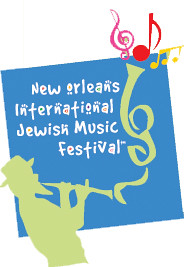 New Orleans International Jewish Music Festival Logo