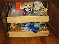 Snack and Cereal Drawer