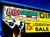 75c liquidation sale!