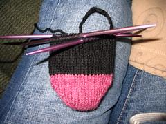 Fraternal Sock #2 - WIP