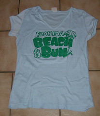 Florida Beach Bum tshirt.