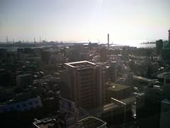 千葉の町を見下ろして