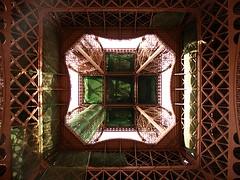 Eiffel desde abajo