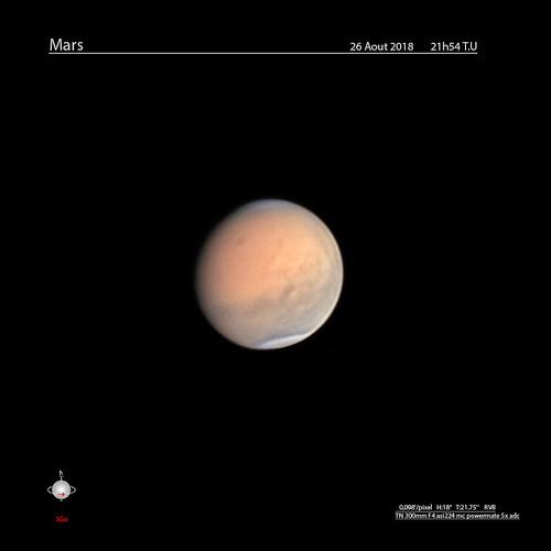 Mars 2018 aout 26