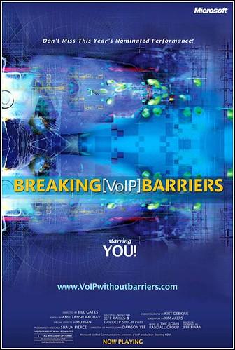 Breaking VoIP Barriers