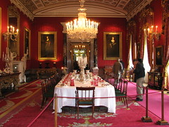 The Great Dining Room, Chatsworth House photo by Taylor Dundee
