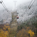 First Snow of the Season. 10.13.18 Opening Day just over a Month Away!
