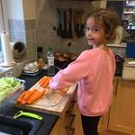 Preparing Sunday dinner<br/>14 Oct 2018