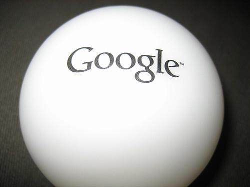 Google flashing bulb