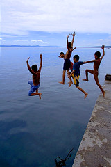 Albuera Pier - Children at Play photo by jeridaking