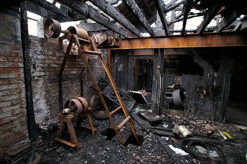 Rusting Building