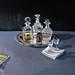 'The silver tray', 102x76cm, Oil on board