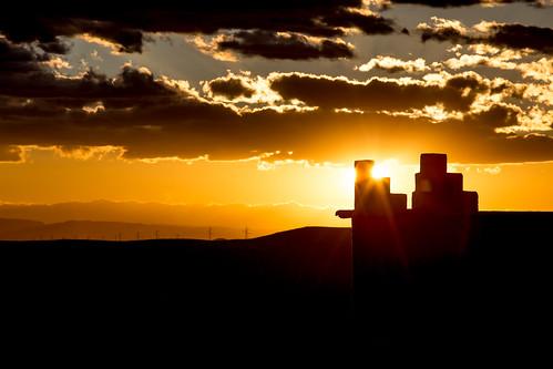 Sunset from Talout, Skoura