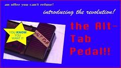 Alt-Tab Pedal