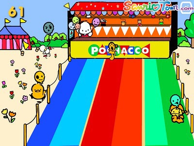 Focus on: Pochacco's Balloon Game | Hello Kitty