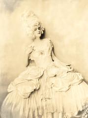 wearing a pale dress photo by Foxtongue