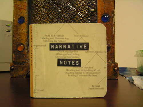 pciture of narrative notes
