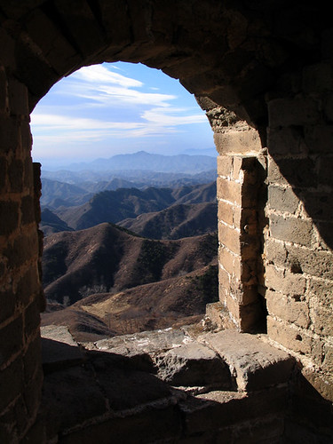 View from Great Wall watchtower (by lil)