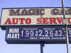 Magic Gas Sign
