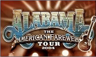 Alabama - The American Farewell Tour 2004