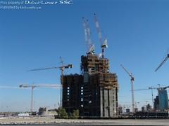 Burj Dubai Obras Construccion
