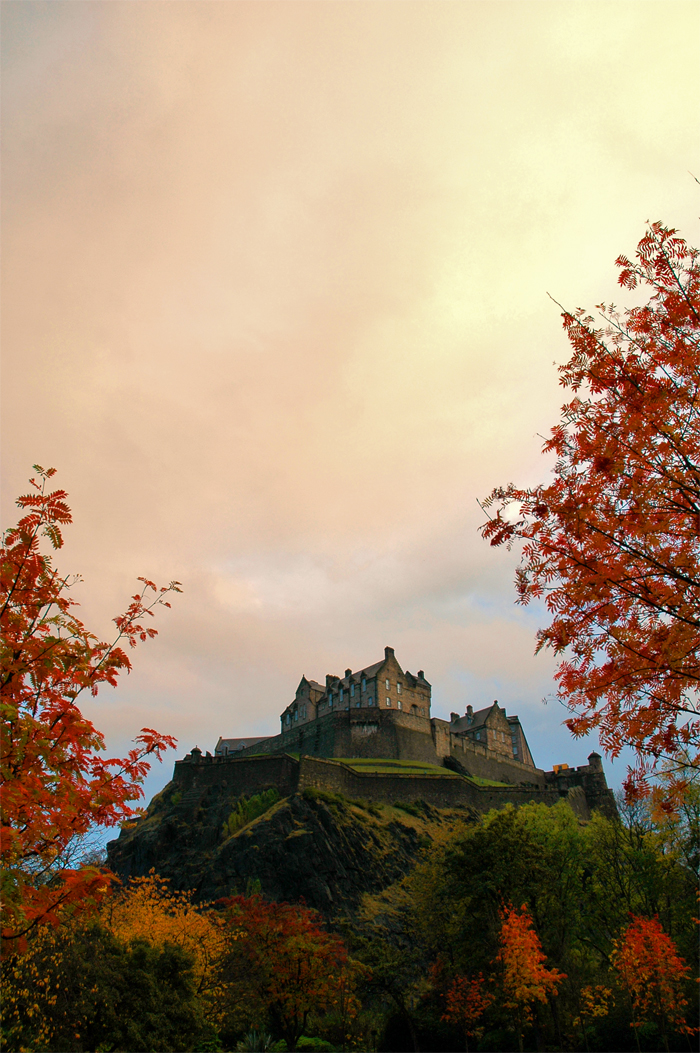 autumn on castle rock