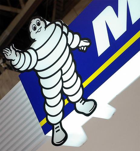 Micheline Bibendum 東京モーターショー2005にて