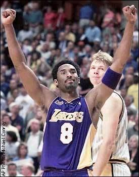 Kobe beats pacers