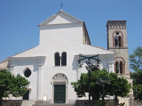 Outside of Ravello Duomo