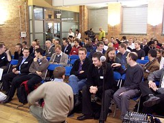 Mobile Monday London crowd on Dec 5