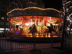 Merry Go Round in Edinburgh's Winter Wonderland