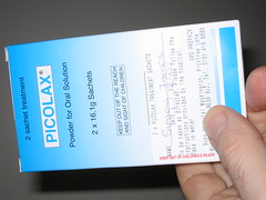 I have just taken a sachet of Picolax | The Barnsley