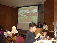 Azza & Johann Sbg Pengerusi Majlis. Well done guys..
