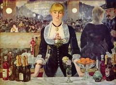 Bar en el Folies-Bergère de Edouard Manet
