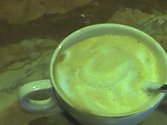 Happiness is a perfectly foamed cappucinno