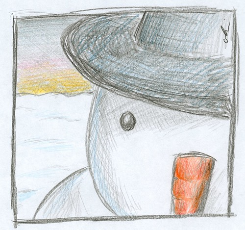 Portrait of a Snowman