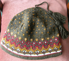 Olympic pattern hat