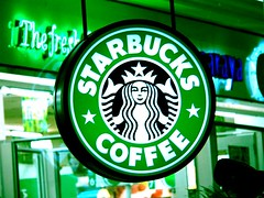 Starbucks Coffee; CC licensed; src: http://www.flickr.com/photos/pyrotechnicphoenix/71464695/