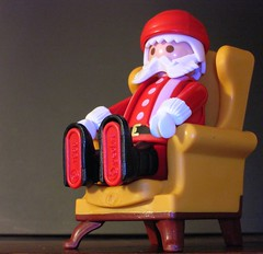 Santa Sits