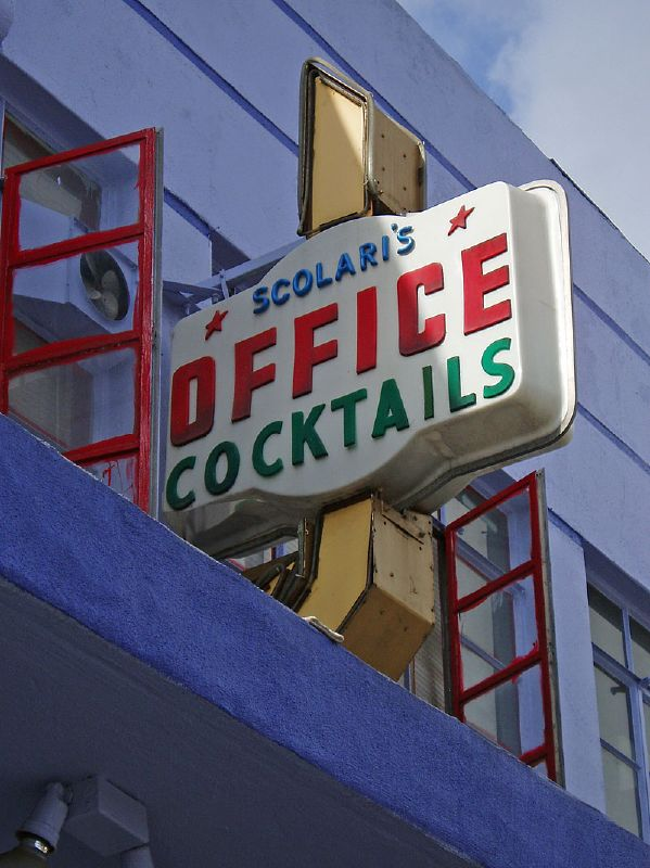 Peter Scolari's Office Cocktails.