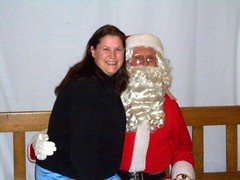 Marissa and Santa