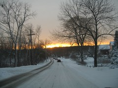Sunsets on Snow