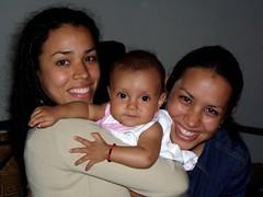 Eliana, Daniela y Elilin