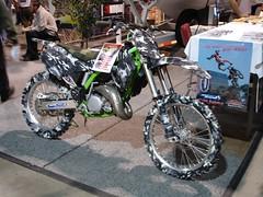 Camoflauge Dirt Bike