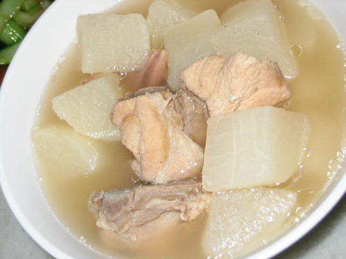 Spareribs And Radish Soup