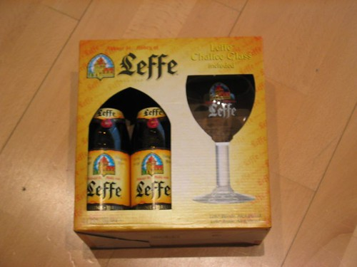 Leffe, my favourite beer