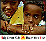 Help dozens of children reach for a star