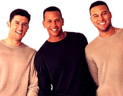 The GQ boys of Baseball -- Nomar, A-Rod, and Jeter